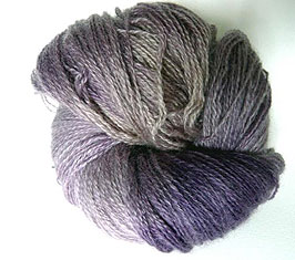 Teeswater Wool Dyed with Logwood